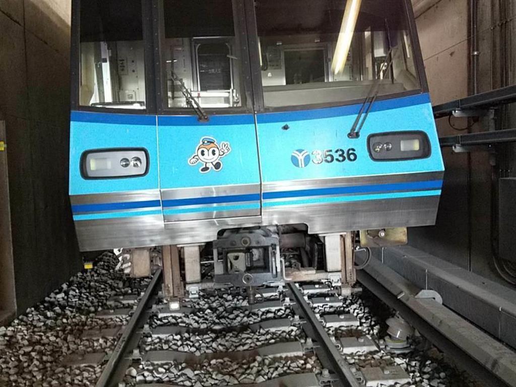 横浜市営地下鉄ブルーライン脱線…撤去忘れた横取り装置に乗り上げか 6日未明に保守点検実施