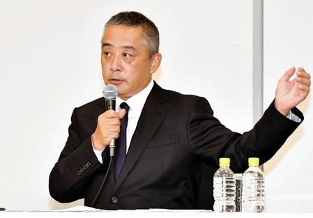 【吉本会見】入江の解雇撤回はなし 岡本社長「直接お金をもらって、仲介。処分を変えるつもりない」