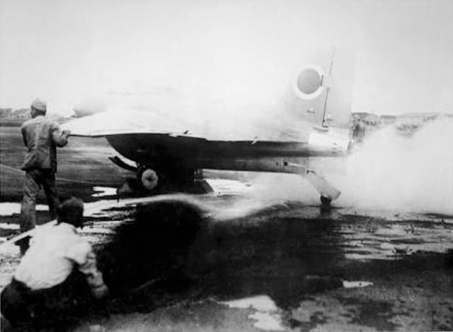 【戦争秘話】74年前、七夕の空に散った日本初ロケット戦闘機「秋水(しゅうすい)」潜水艦がドイツから持ち帰った最新技術(写真)
